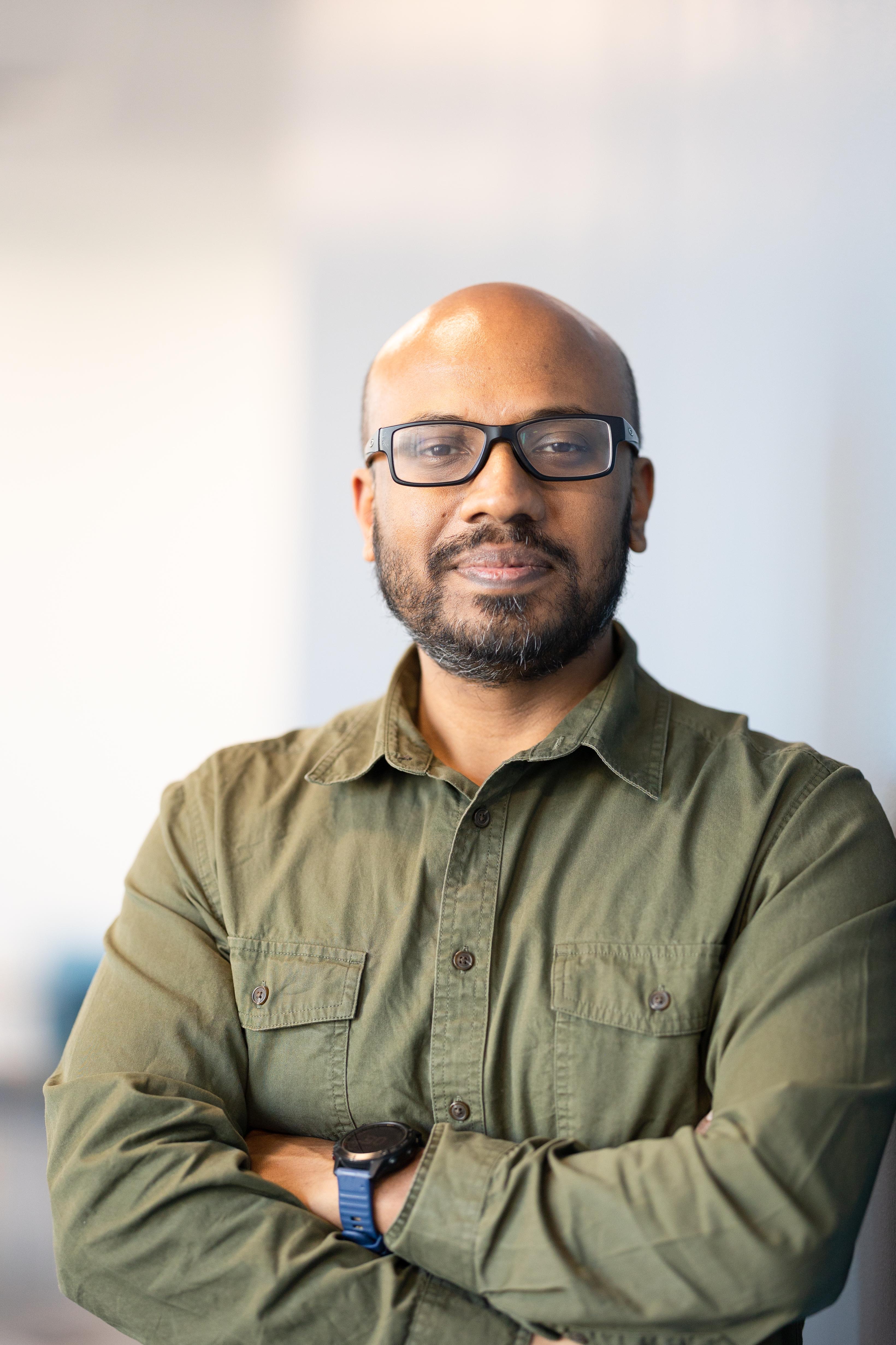 Bimal Viswanath portrait - submitted